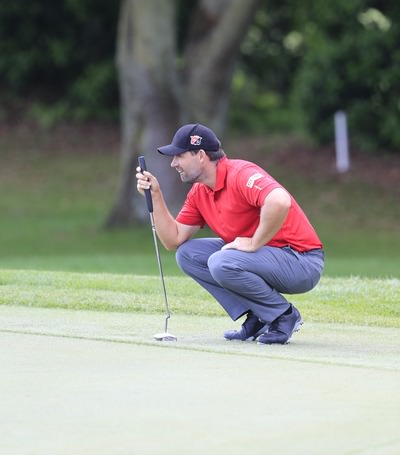 Pádraig Harrington lost the plot on the greens on Sunday.  Picture: Fran Caffrey www.golffile.ie