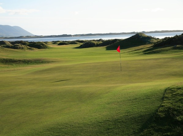 The 7th at Dooks Golf Club. Picture via www.dooks.com