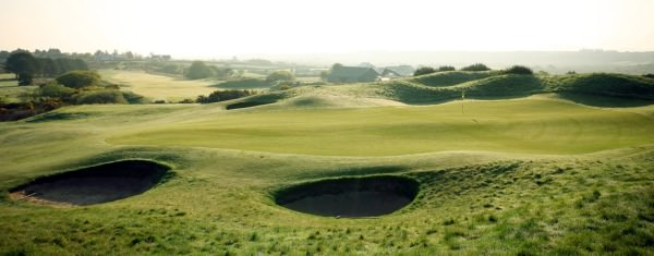 A hazy morning at Dooks Golf Club. Picture via www.dooks.com