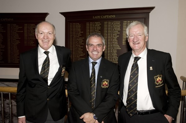Paul McGinley on a recent visit to Grange where he was announced as Honorary Captain for 2014.