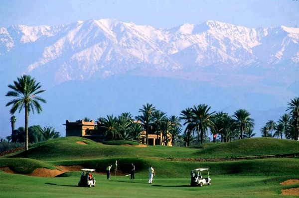 Amelkis Golf Club in Marrakech
