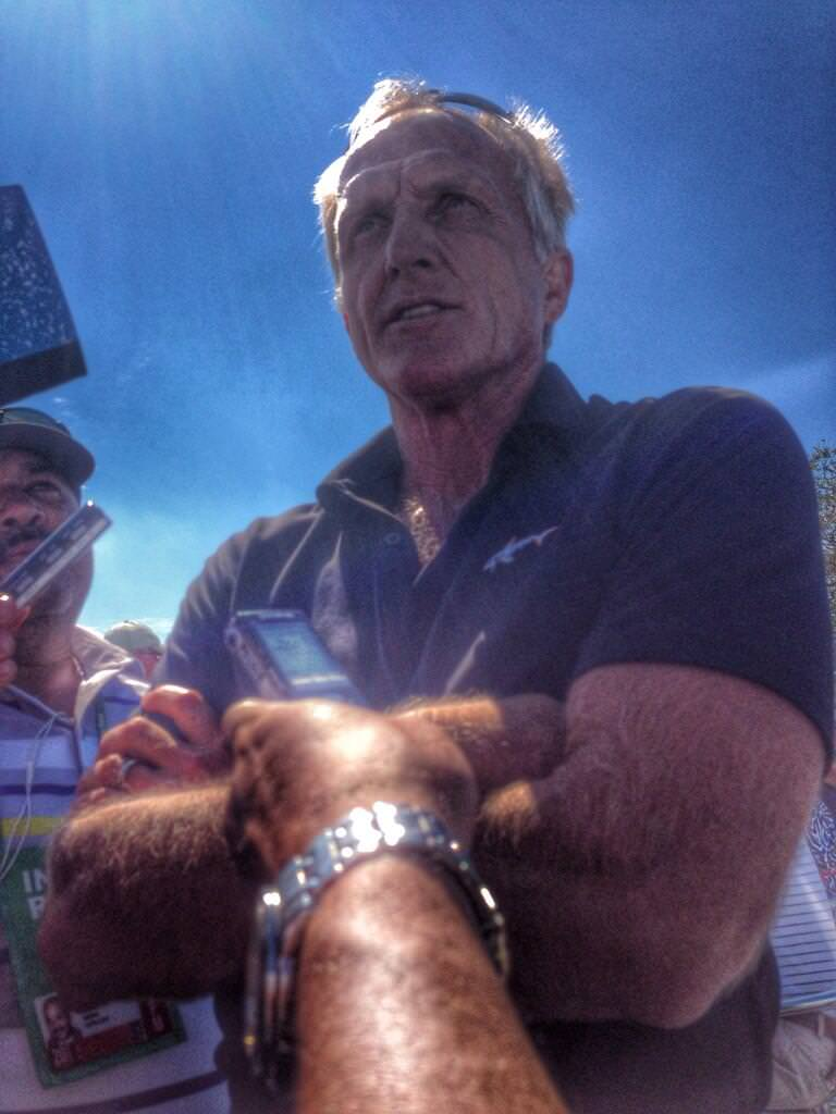 Greg Norman. Picture © Brian Keogh