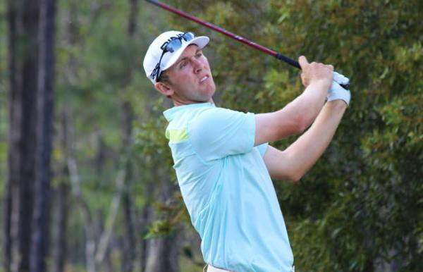 Seamus Power still leads at St. James Plantation. Picture via egolfprofessionaltour.com
