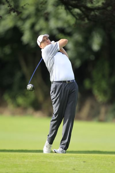 Tony Cleary, pictured during last year's Leinster Mid-Amateur at Grange. Picture: Thos Caffrey /  www.golffile.ie