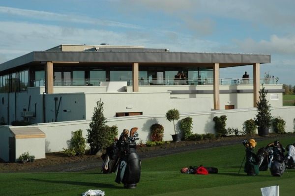 The clubhouse at Moyvalley