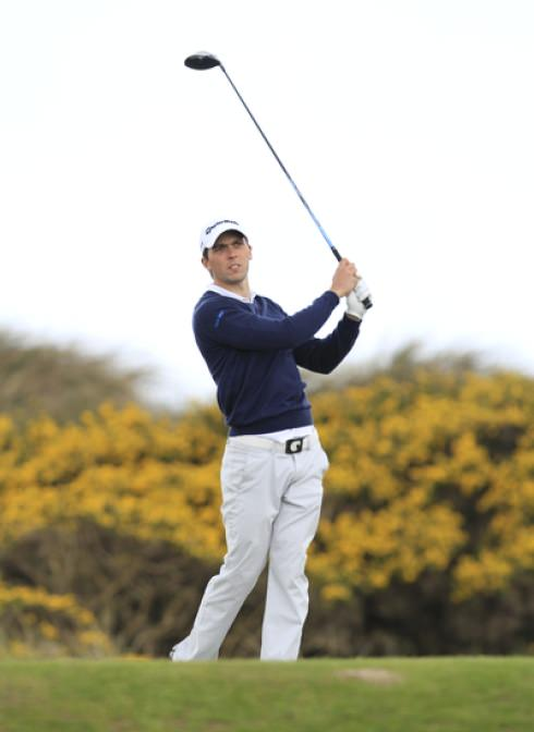 Mourne's Reeve Whitson on the 7th in the second round. Picture: Thos Caffrey / www.golffile.ie