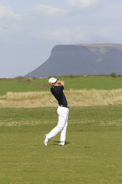 Richie O'Donovan appears to be back in the groove. Picture: Thos Caffrey /  www.golffile.ie