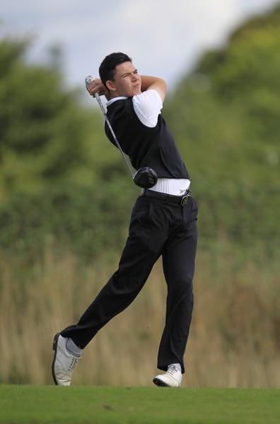 Peter McKeever. Picture: Thos Caffrey/ www.golffile.ie