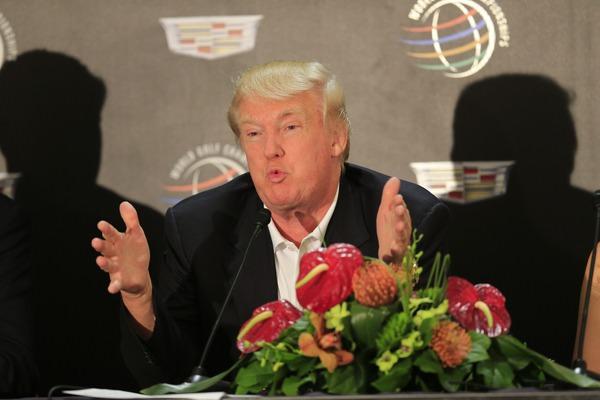 Donald Trump.Picture: Fran Caffrey  www.golffile.ie