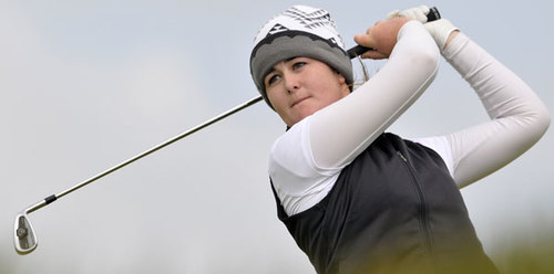 Paula Grant is chasing a Curtis Cup place. Picture © Pat Cashman / cashmanphotography.ie