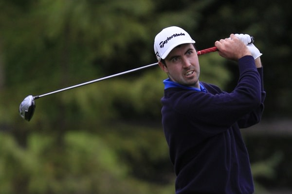 Niall Kearney, pictured above during last year's Irish PGA, is in with a shout at the Challenge de Catalunya thanks to a second round 65. Picture: Thos Caffrey / www.golffile.ie