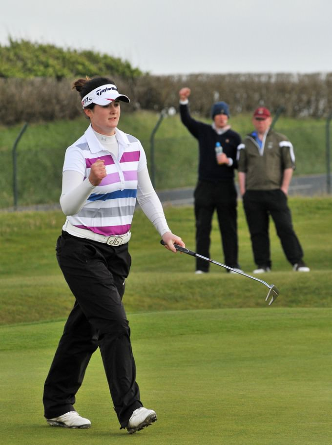 Lisburn's Paula Grant can seal her Curtis Cup place with a solid performance in Wales this weekend. Picture: Pat Cashman  cashmanphotography.ie