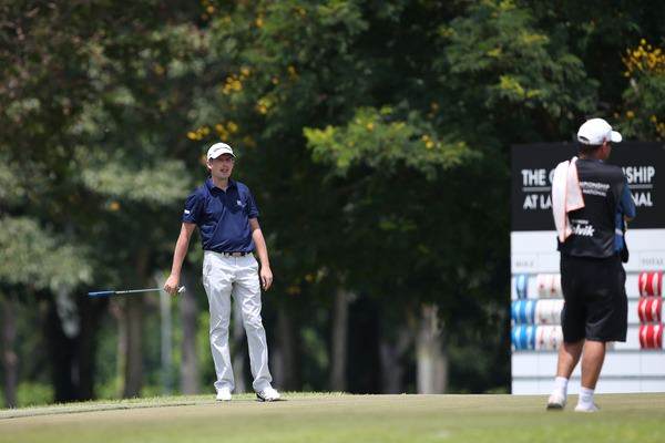 Peter Lawrie is finally on the board in the Race to Dubai. Picture: David Lloyd / www.golffile.ie