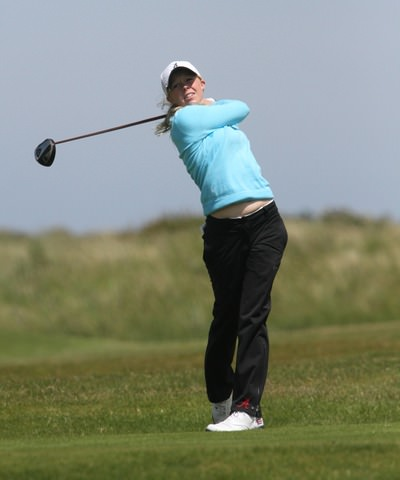 Stephanie Meadow is Curtis Cup bound. Photo Jenny Matthews/www.golffile.ie