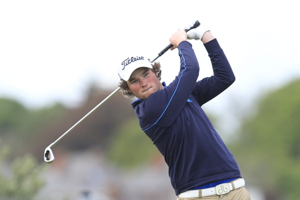 Cormac Sharvin could become the first player since Pádraig Harrington to hold the Irish Close and Irish Amateur Open titles at the same time. Picture: Thos Caffrey / www.golffile.ie