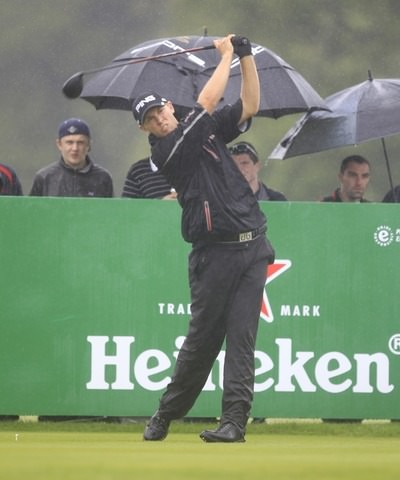 Seamus Power in action at last year's Irish Open at Carton House. Will he get an invitation to Fota Island?  Picture Thos Caffrey / www.golffile.ie