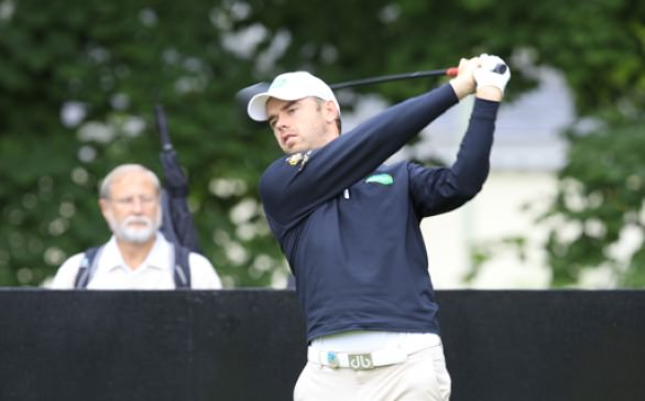 Gareth Shaw finished well in Austria. Picture: Stuart Adams www.golffile.ie