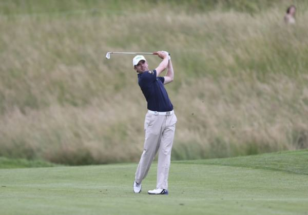 Gareth Shaw (above) and Ruaidhri McGee are in contention on the Challenge Tour in Austria.  Picture: David Lloyd / www.golffile.ie