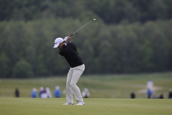 Gareth Maybin during round one of the 2014 Nordea Masters. Picture: Eoin Clarke www.golffile.ie