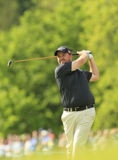 Shane Lowry at Wentworth. Picture Stuart Adams  www.golffile.ie