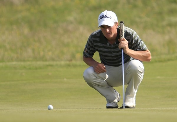 Paul Dunne has made a great start to his defence of the East of Ireland. Picture Thos Caffrey  www.golffile.ie