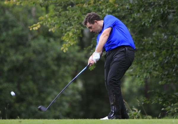 Lowry in action in last year's Irish Youths at Claremorris. Picture: Thos Caffrey / www.golffile.ie