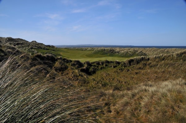 The 16th at Enniscrone. Picture: Pat Cashman  www.cashmanphotography.ie