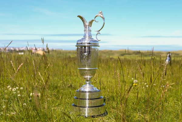 The Claret Jug at Royal Portrush. Picture: David Lloyd /  www.golffile.ie