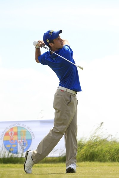 Alex Gleeson. Picture: Thos Caffrey /  www.golffile.ie