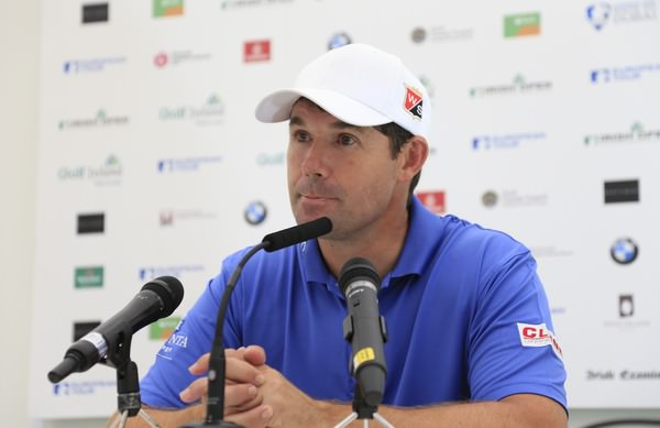 Pádraig Harrington must remain positive, no matter what. Picture: www.golffile.ie