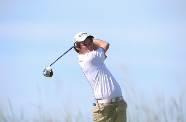 Cormac Sharvin (Ardglass) during The Amateur Championship at Royal Portrush. Picture: David Lloyd /  www.golffile.ie