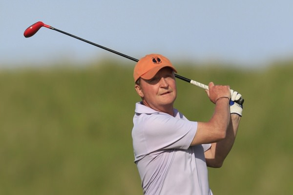 Neville Steedman (Courtown) during the 2014 East of Ireland at Baltray. Picture: Thos Caffrey /  www.golffile.ie