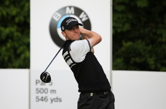 Michael Hoey is getting stronger all the time as a European Tour player. Picture: David Lloyd /  www.golffile.ie