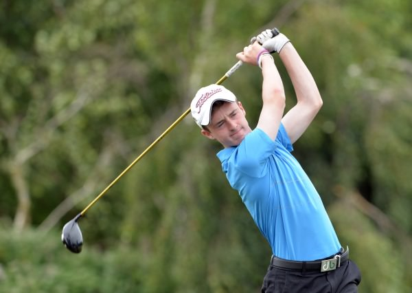 Brian Crowdle (Kilkenny) driving from the 5th tee during the final round. Picture by Pat Cashman www.cashmanphotography.ie