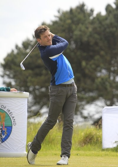 Royal Dublin's Richard Knightly won the Kerry Senior Scratch Cup on Saturday. Picture: Thos Caffrey / www.golffile.ie