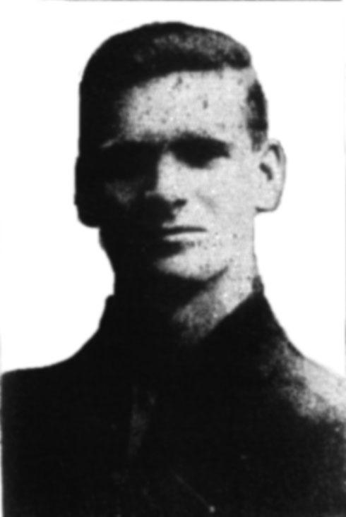 Ben Clarke, Darren Clarke's grandfather. Pic via http://nifootball.blogspot.co.uk/