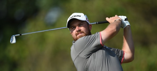 Shane Lowry in action in round one at Hoylake. Picture Fran Caffrey, www.golffile.ie
