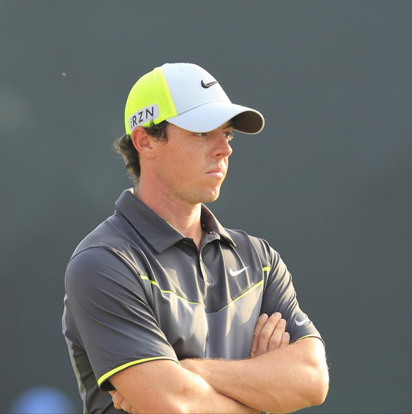 Rory McIlroy is in the zone again. Picture Eoin Clarke,  www.golffile.ie