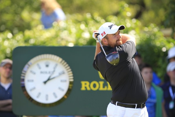 I't s major o'clock for Shane Lowry. Picture Fran Caffrey, www.golffile.ie