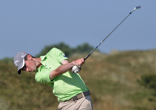 Tommy O'Driscoll (Connacht) driving at the 9th during the Boys Interprovincial Matches at Island Golf Club. (23/07/2014l). Picture by Pat Cashman