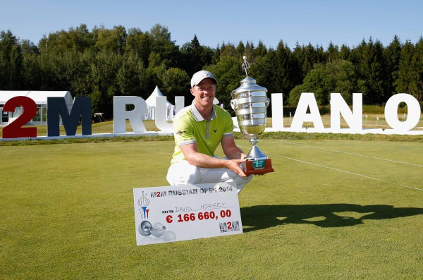 David Horsey beat Damien McGrane with a par at the first extra hole to win the M2M Russian Open
