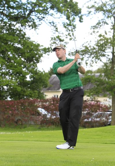 Michael McDermott. Picture: Thos Caffrey /  www.golffile.ie