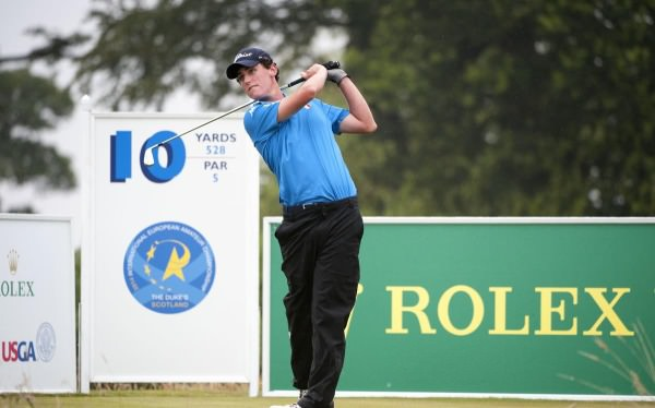Renato Paratore, the world No 5, is the highest ranked amateur in the field. Picture via scottishgolf.org