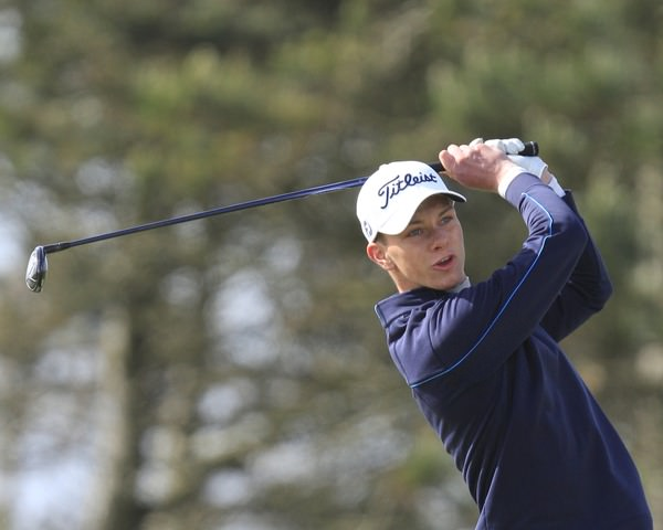 Rowan Lester (Hermitage) during the Irish Amateur Close Championship at Seapoint Golf Club.Picture: Thos Caffrey /  www.golffile.ie