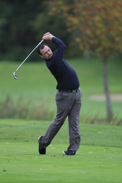 Mullingar's James Quinlivan. Picture: Thos Caffrey /  www.golffile.ie