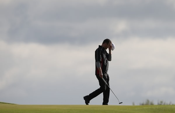 Michael Hoey, picture in Denmark on Friday by David Lloyd / www.golffile.ie