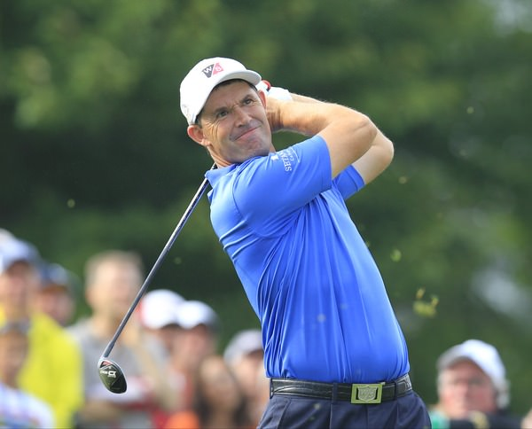 Pádraig Harrington during the recent US PGA in Kentucky. Picture Eoin Clarke,  www.golffile.ie
