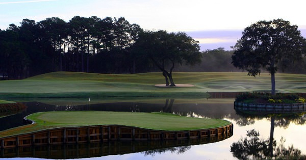The 17th at Sawgrass.