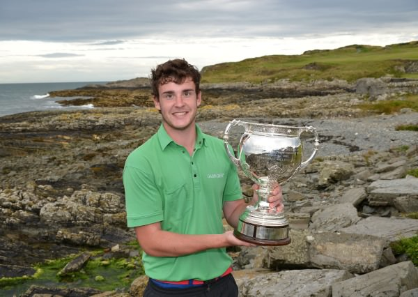 Kyle McCarron (North West) winner of 2014 Irish Youths Amateur Close Championship at Ardglass Golf Club. (29/08/2014). Picture by  Pat Cashman