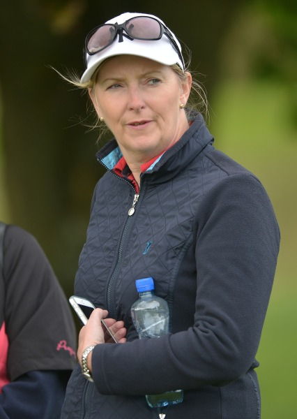 Beverly Cooper Flynn (Castlebar Assistant Captain) watching the 2014 Private Home Care Connacht District Ladies Junior Cup at Athlone Golf Club (30/08/2014). Picture by Pat Cashman